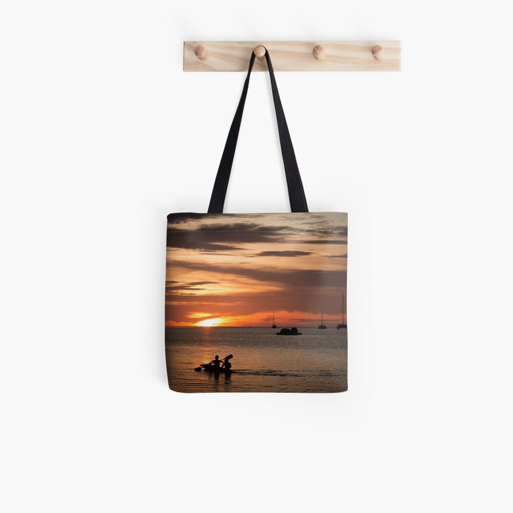 Kayaking to the Sunset in Koh Lipe  Tote Bag