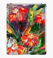 Flame Flowers  iPad Case/Skin