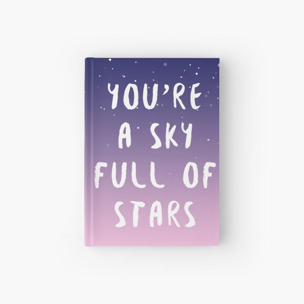 Himmel voller Sterne Notizbuch