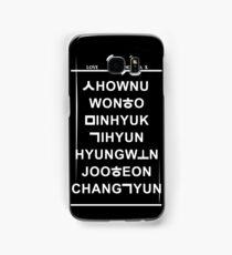love monsta x black Samsung Galaxy Case/Skin