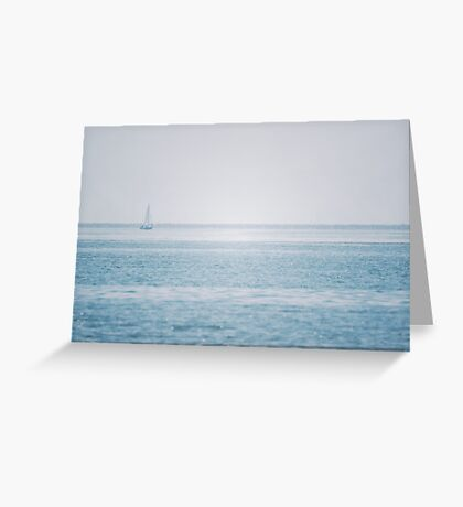 Shimmering Sea Greeting Card
