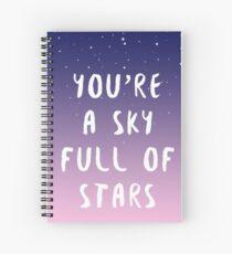 Sky full of stars Spiral Notebook
