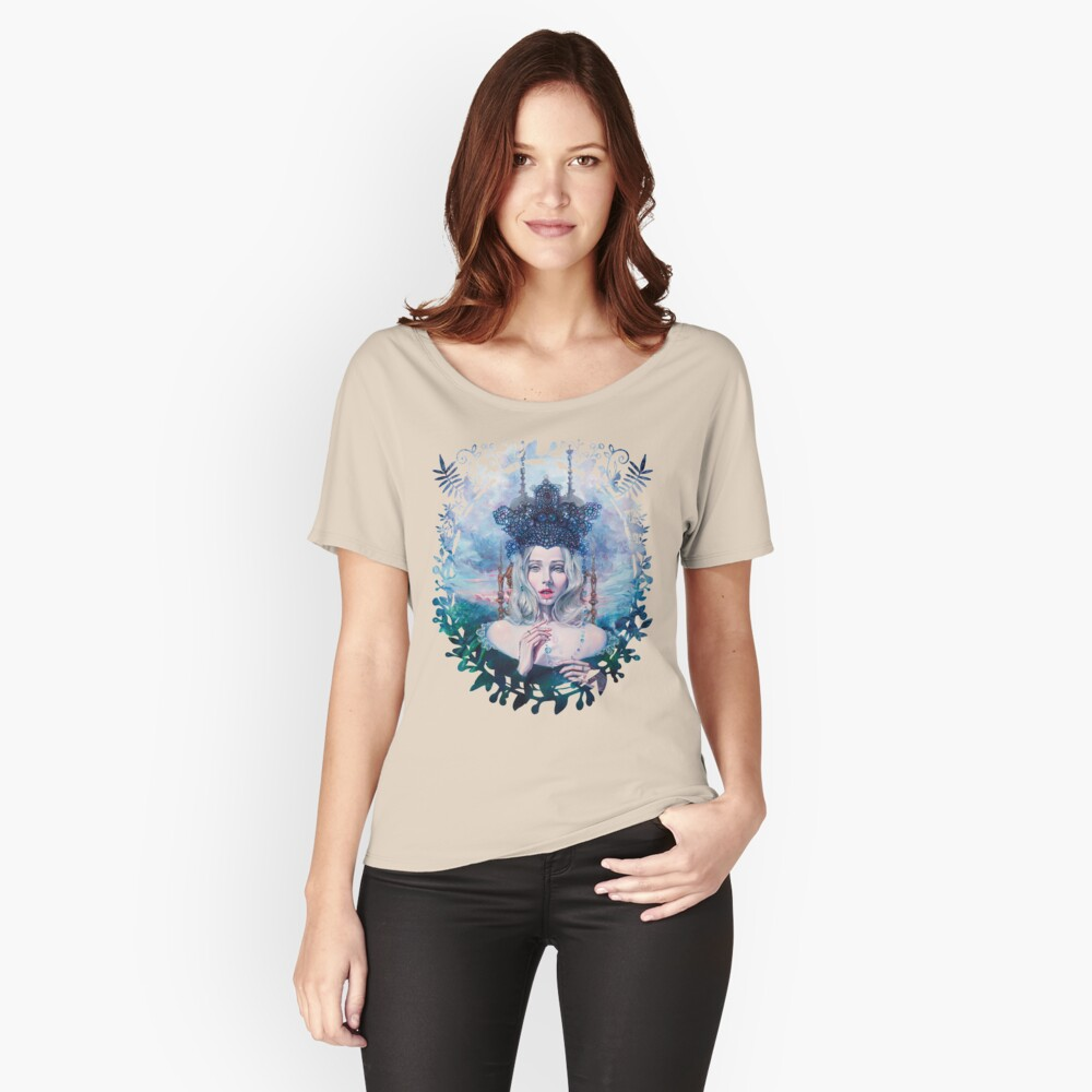 Self-Crowned Relaxed Fit T-Shirt
