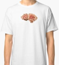 Two Peach Roses Classic T-Shirt