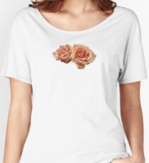 Two Peach Roses Women's Relaxed Fit T-Shirt