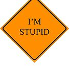 Here's Your Sign - I'm Stupid by Jason Scott
