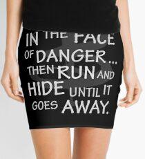 I laugh in the face of danger Mini Skirt