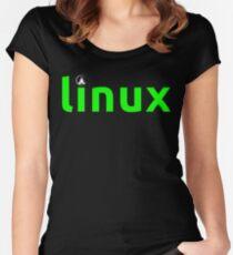 Linux Shirt - Linux T-Shirt Women's Fitted Scoop T-Shirt
