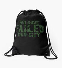 Arrow - You Have Failed This City 2 Drawstring Bag