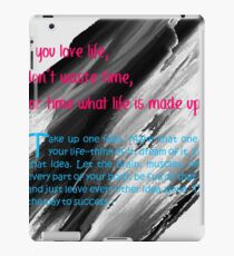 beautiful quotes iPad Case/Skin