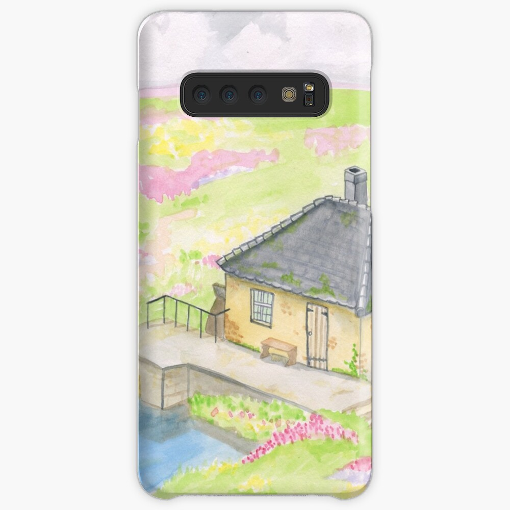 Howl's Moving Castle Background Design Case & Skin for Samsung Galaxy