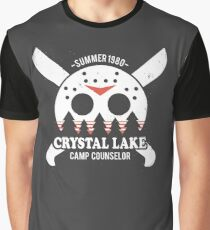 e1ee2fece Camp Crystal Lake Counselor Graphic T-Shirt