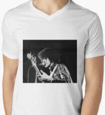 Phil Lynott in London Men's V-Neck T-Shirt