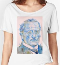 CARL JUNG - watercolor portrait..5 Women's Relaxed Fit T-Shirt