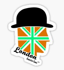 London Gentleman by Francisco Evans ™ Sticker