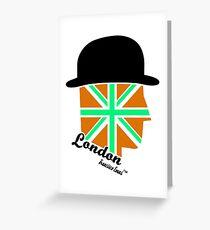 London Gentleman by Francisco Evans ™ Greeting Card