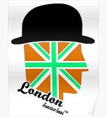 London Gentleman by Francisco Evans ™ Poster