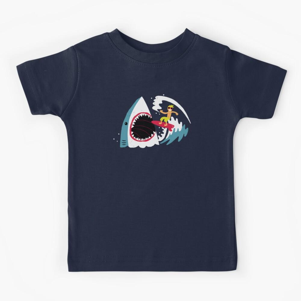 Surfear arriba Camiseta para niños