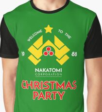 Nakatomi Corp Christmas Party 1988 T-Shirt Graphic T-Shirt