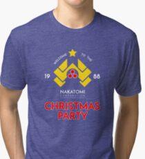 Nakatomi Corp Christmas Party 1988 T-Shirt Tri-blend T-Shirt