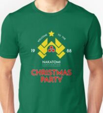 Nakatomi Corp Christmas Party 1988 T-Shirt Unisex T-Shirt