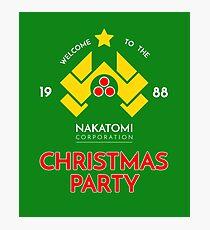 Nakatomi Corp Christmas Party 1988 T-Shirt Photographic Print