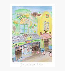 Spirited Away Background Design Photographic Print