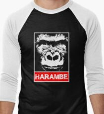 Remember Harambe Men's Baseball ¾ T-Shirt