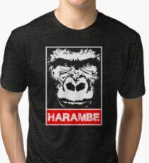 Remember Harambe Tri-blend T-Shirt