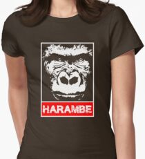 Remember Harambe Womens Fitted T-Shirt