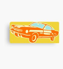 Ford Mustang, vintage car Canvas Print