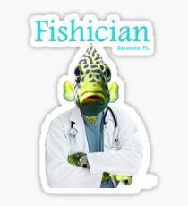 Fishician Sticker