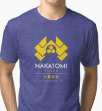 Nakatomi Plaza T-Shirt Tri-blend T-Shirt