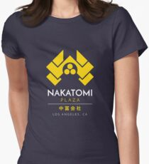 Nakatomi Plaza T-Shirt Womens Fitted T-Shirt