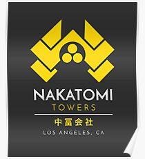 Nakatomi Towers T-Shirt Poster
