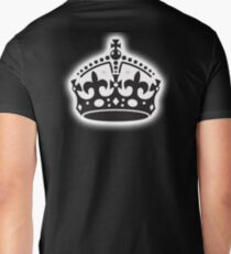 The Crown, British Crown, GB, UK, Her Majesty the Queen; black T-Shirt