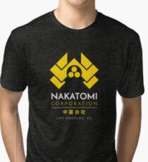 Nakatomi Corporation T-Shirt Tri-blend T-Shirt