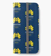 Nakatomi Corporation T-Shirt iPhone Wallet/Case/Skin