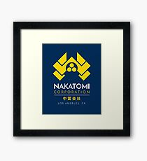 Nakatomi Corporation T-Shirt Framed Print