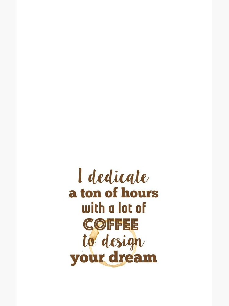 Design and coffee to design your dream by gudders