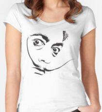 Salvador Dali Women's Fitted Scoop T-Shirt