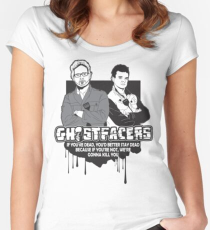 Ghostfacers Women's Fitted Scoop T-Shirt