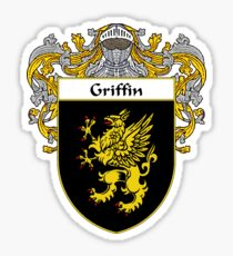 Griffin Coat of Arms/Family Crest Sticker