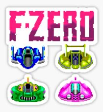 F-ZERO - SUPER NINTENDO Sticker