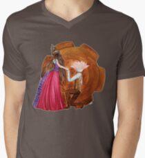 Steam Lovers Mens V-Neck T-Shirt