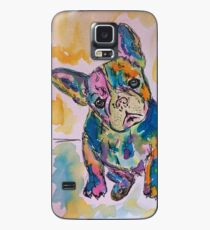 Funda/vinilo para Samsung Galaxy Bulldog francés