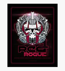 Star Wars RED 1 Rogue Leader - Deluxe Photographic Print