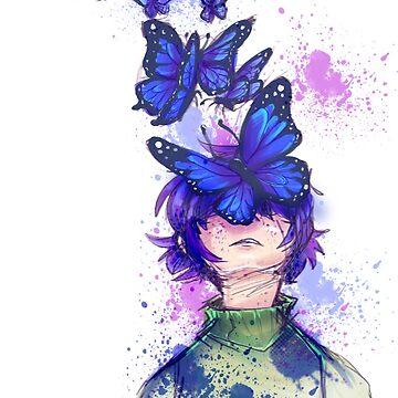 Tucker Butterfly Face by spoonychan