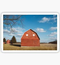 The Red Barn Sticker