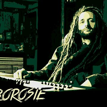 Alborosie in Studio by destron